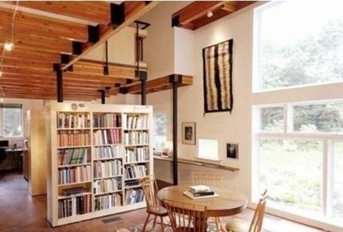 小户型也要讲究空间感!10个室内隔断创意好设计!